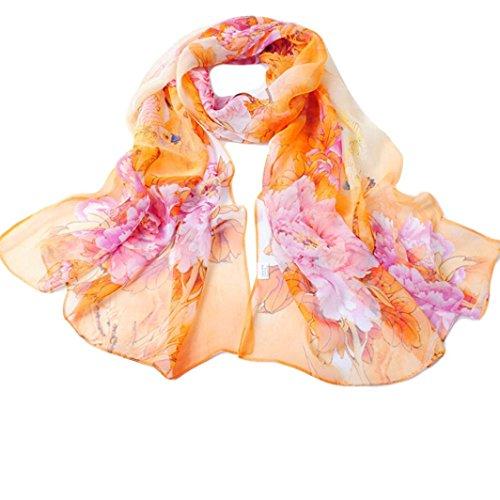 Creazy-Fashion-Chinese-style-Lady-Long-Wrap-Womens-Shawl-Chiffon-Scarf-Scarves-Yellow