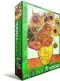 Eurographics Twelve Sunflowers by Van Gogh 1000-Piece Puzzle