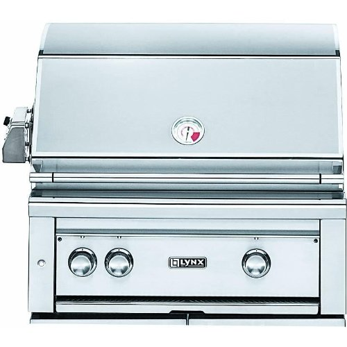 "30"" Professional Built-In ProSear Grill with Rotisserie Fuel Type: Liquid Propane"