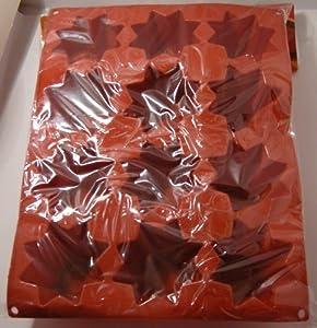 Bakeware 12 Mini Pandoro 8.5cm H9 cm 100% Silicone Guaranteed quality