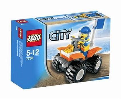 Lego - 7736 - Jeu de construction - LEGO City - Le quad des garde-côtes