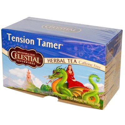 Celestial Seasonings 0631077 de tension Tamer Tisane sans caf-ine - 20 Sachets