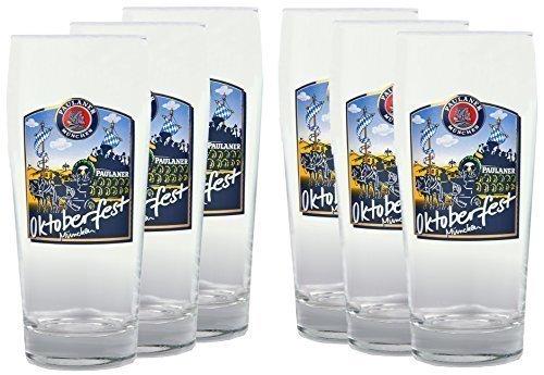 paulaner-lot-de-6-verres-a-biere-05-l-avec-motif-bierglaser-fete-de-la-biere-oktoberfest