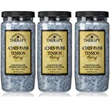 Village Naturals Therapy Tension Relief Mineral Bath Soak 20 ounce (3-pack)