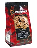 Walkers  Mini Chocolate Chip Shortbread Rounds, 4.4-Ounce Bags (Pack of 6)