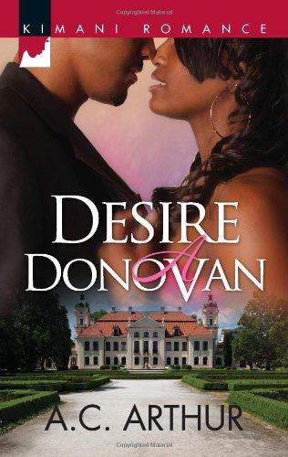 Image of Desire a Donovan (Kimani Romance)