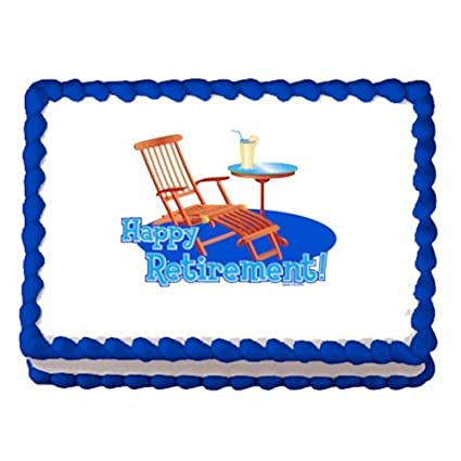 Retirement Cake Toppers Image Cake/cupcake Topper