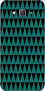 Snoogg Traingle Psyche Pattern Designer Protective Back Case Cover For Samsun...
