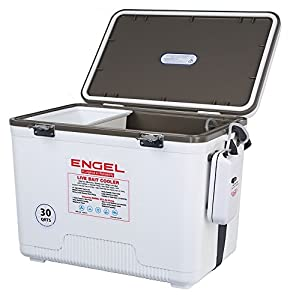Engel live bait coolers with battery powered for Best fishing coolers