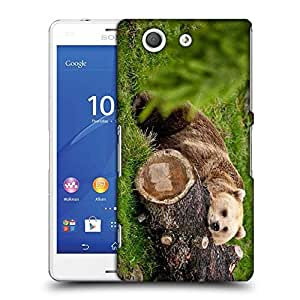 Snoogg Bear And The Wood Designer Protective Phone Back Case Cover For SONY XPERIA Z3 COMPACT