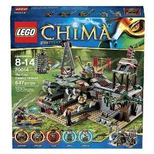 レゴ LEGO 70014 チーマ CHIMA ワニ族・隠れ家要塞 The Croc Swamp Hideout  海外直送品・並行輸入品