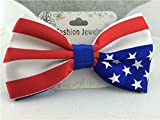 American Flag - Handmade Dog or Cat Handcrafted Bow Tie Collar Accessory (Collar Not Included)