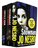 JO NESBO Jo Nesbo 3 Books Collection Set The Snowman (The Snowman, The Redbreast, The Devil's Star)