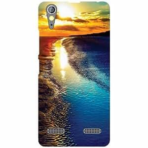 Lenovo A6000 Plus Back Cover - Droplets Designer Cases