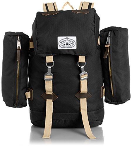 [ポーラー] POLeR RUCKSACK 512015-BLK BLACK - BLACK SIDE BAGS (BLACK - BLACK SIDE BAGS)