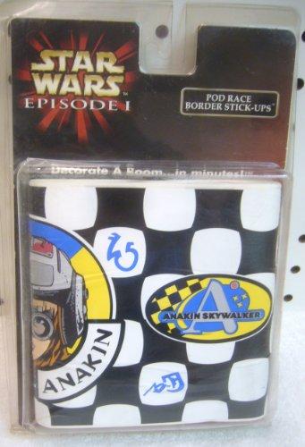 Star Wars Episode I Pod Race Border Stick-Ups
