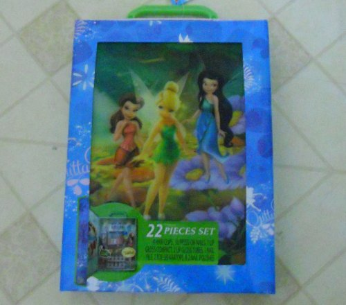 DISNEY FAIRIES 22 PIECE COSMETIC SET