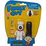 Family Guy Create-a-Figure Brian (Includes Part to Build Death)