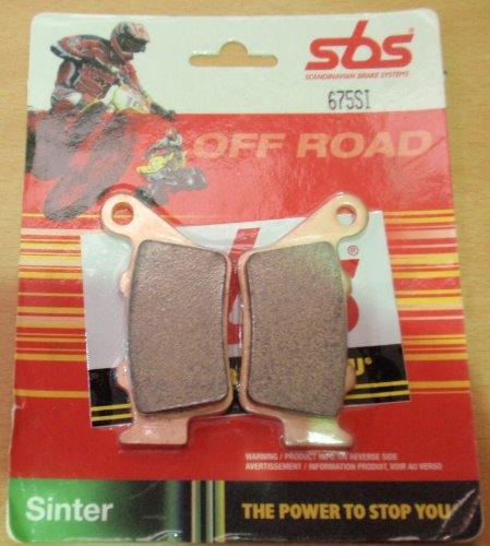 SBS OFF ROAD SINTERED BRAKE PADS SBS675SI