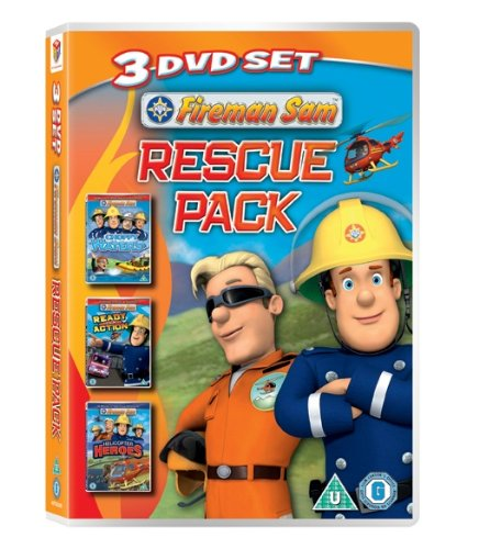 Fireman Sam - Rescue Pack (Triple Pack) [2012] [DVD]