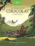 """Afficher """"Géo BD aventures pour découvrir le monde n° 4 La Voleuse de chocolat"""""""