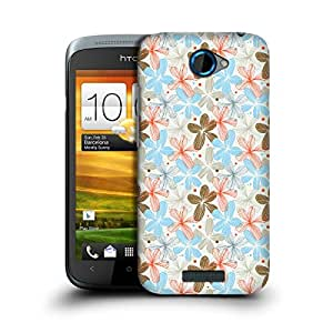 MobileGlaze Designs Blooming Meadow Print Elegant Hard Back Case Cover for HTC ONE S