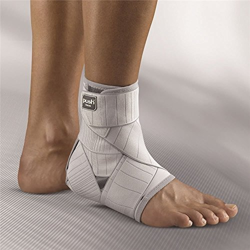 Push med Ankle Brace Left Size 2 - Replicates functional taping with...