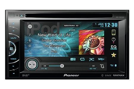 Pioneer AVH-X3600DAB Vidéo Embarquée Fixe, 16:9 Tuner Intégré Bluetooth