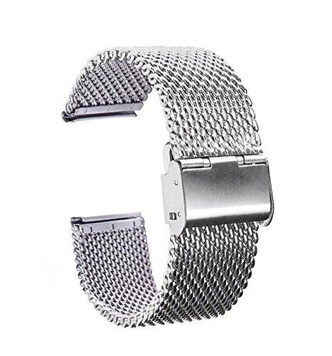 bluebeachr-22mm-acier-inoxydable-replacement-bande-bracelet-chaine-en-cuir-de-montre-silicone-pour-p