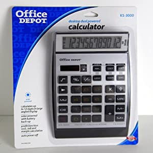 Office Depot(R) KS-3000 12-Digit Calculator