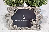 "2860 - Picture Frame - Pewter - ""Dragon"" - 10.2"" x 6.1"" - Just $29.95"