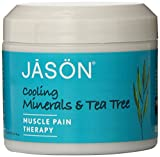 Jason Natural, Cooling Mineral Gel, Tea Tree Pain Reliever, 4 oz (113 g)