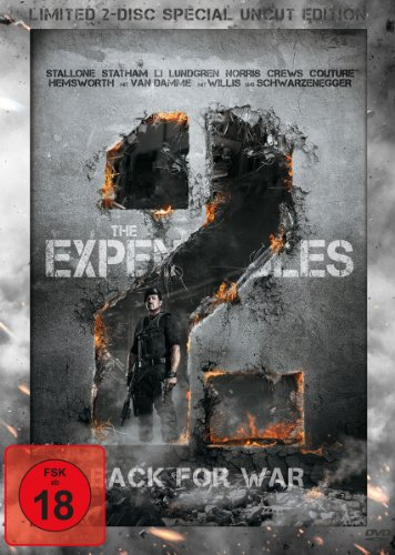 The Expendables 2 - Back for War (Limited Special Uncut Edition, 2 Discs, Steelbook)