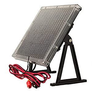 12-Volt Solar Panel Charger for 12V 8Ah APC BACK-UPS ES BE550R SLA Battery by UPG