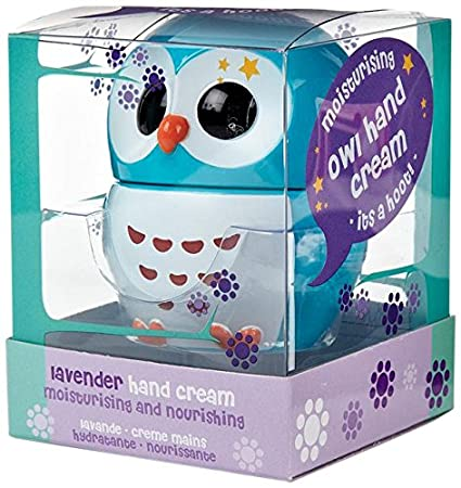 Owl Shaped Hand Cream Blue Lavendar Pleasant And Refreshing Fragrance