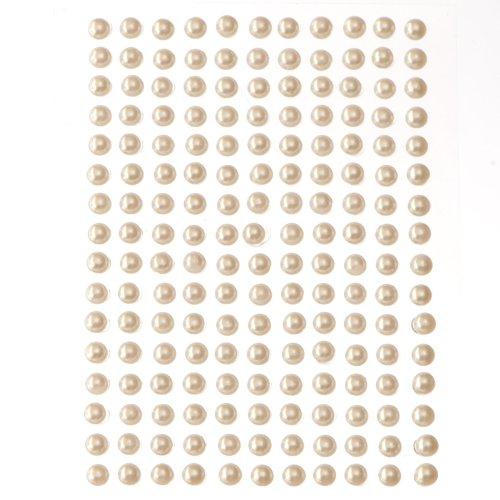352-x-white-ivory-self-adhesive-stick-on-flat-back-pearls-2mm