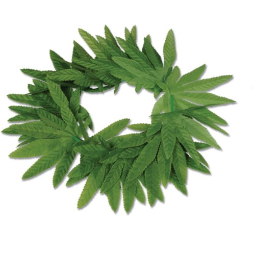 Tropical Fern Leaf Headband Party Accessory (1 count)