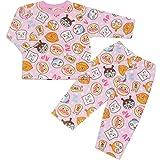アンパンマン 長袖パジャマ なあったかフリース素材。J-FA2849 (100cm, ピンク)