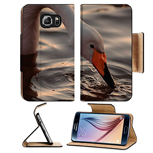 msd-premium-samsung-galaxy-s6-edge-flip-pu-leather-wallet-case-a-closeup-portrait-of-whooper-swan-dr