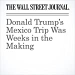 Donald Trump's Mexico Trip Was Weeks in the Making | Monica Langley