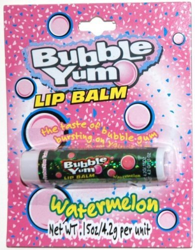bubble-yum-watermelon-flavored-lip-balm-1-each-by-lotta-luv