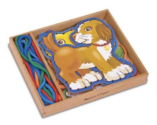 Melissa & Doug - 13782 - Loisir CrǸatif - Wooden Panels & Laces Pets