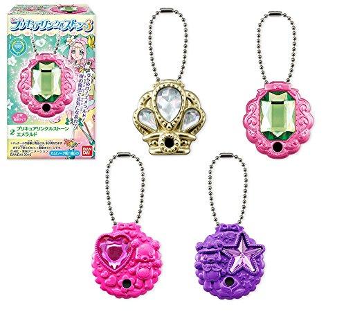 食玩版 プリキュアリンクルストーン3 全4種セット【フルコンプ】(魔法つかいプリキュア!)