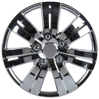 Unitec 7516 Premium- Radzierblenden 4er- Satz Monaco, chrom - 4-er Set von Unitec bei Reifen Onlineshop