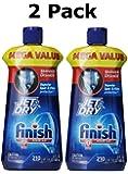 Finish Jet Dry Rinse Aid, 23 Fl Oz - 2 Pack
