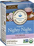 Traditional Medicinals B22032 Traditional Medicinals Nighty Night Valerian Tea -6x16 Bag