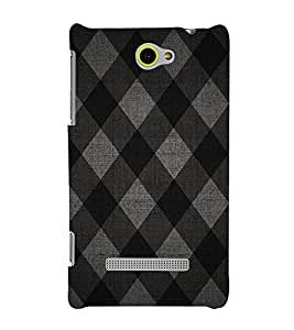 Diamond Pattern 3D Hard Polycarbonate Designer Back Case Cover for HTC Windows 8S
