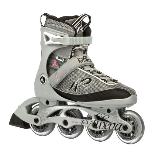 K2 Sports Women's Athena Fitness 2012 Inline Skates (Silver/Black, 8.5)