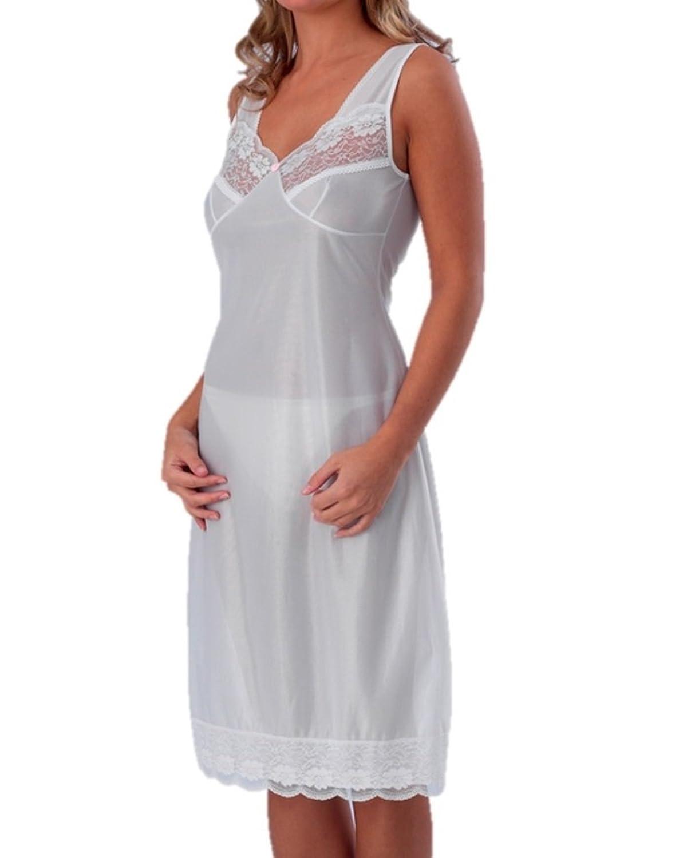 Damen voller Schlupf Unterröcke Unterwäsche Weiß 58 günstig kaufen