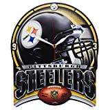 Pittsburgh Steelers - Helmet Plaque Clock